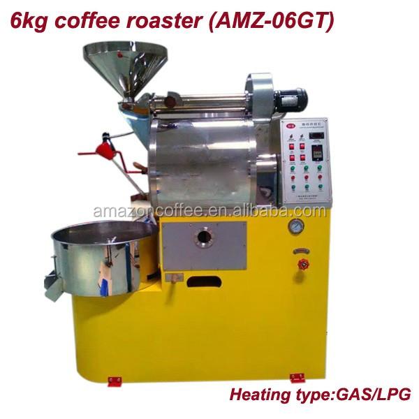 Digital Display 6kg Coffee Roasting Machine With Gas ...