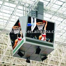 CE RoHS 4X3m P8mm full color basketball stage led screen