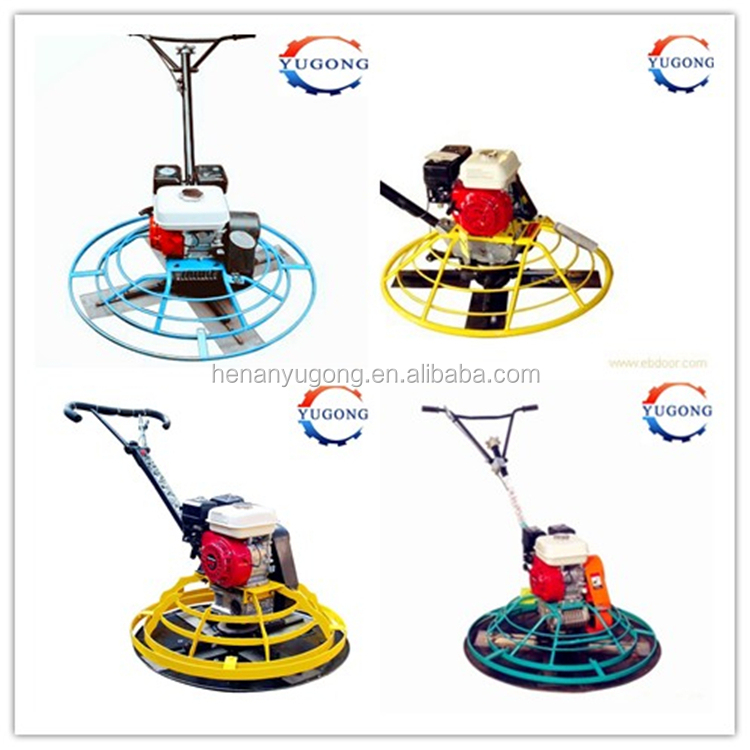 diameter 1000mm power trowel with honda engine Dimension 1150*1150*690mm wholesale price For Personal Use
