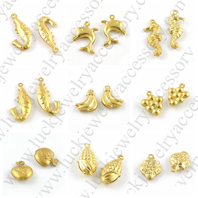 Latest Brass Hook Shape New Fashion Gold Pendant Design Men, View ...