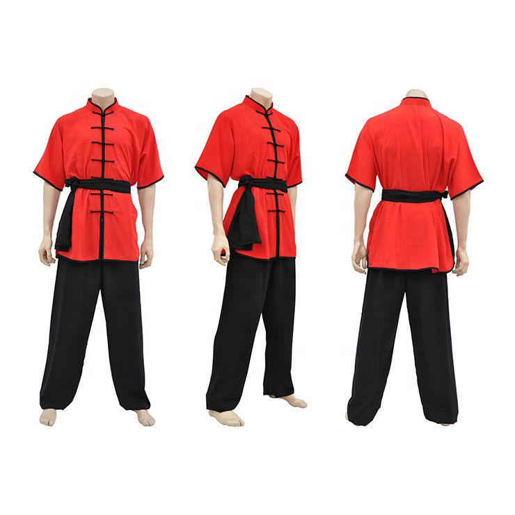 Custom Made China KungFu Uniform met Vele Kleuren Optie