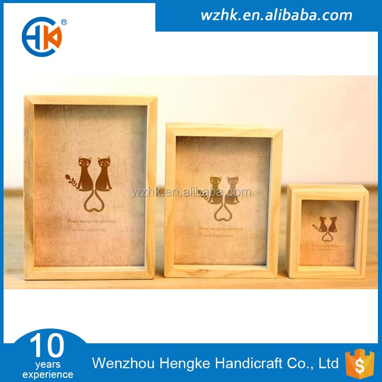 Großhandel 8x8 Holz Shadow Box Rahmen,Tiefe Holzkiste Rahmen - Buy ...