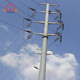 Iron or steel lattice masts power transmission electric pylons galvanized pole
