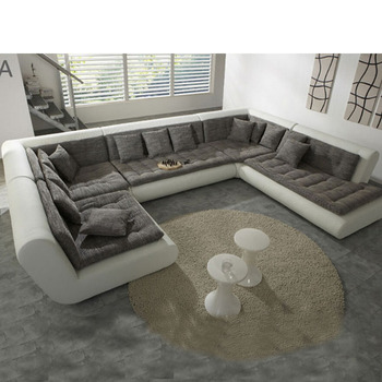 modern u shaped sectional sofa fabric leather sofa set new designs new model sofa sets