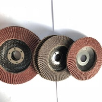 Sanding flap disc for metal working/flap disc with plastic backing