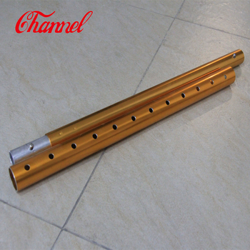 Factory Supply Adjustable telescopic tube aluminum