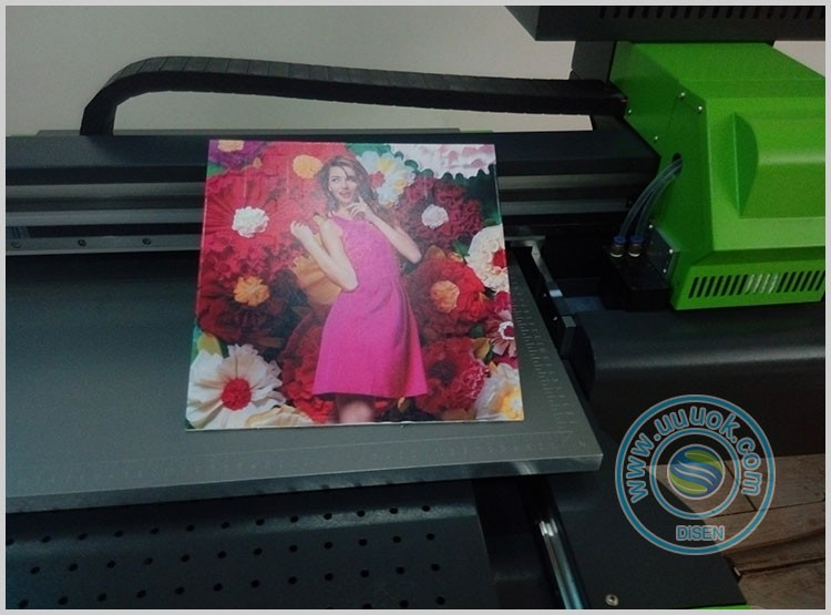 DX5 of TX800 printkop hoge snelheid a4 uv flatbed printer
