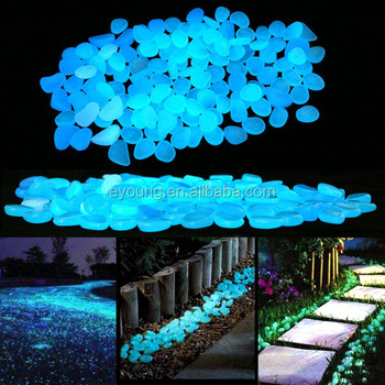200pcs glow in the dark garden pebbles stones for yard and walkways decor diy decorative - Glow In The Dark Garden Pebbles