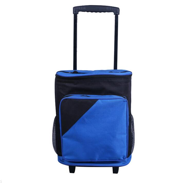 Custom Trolley Outdoor Travel Cooler Bags with Wheels