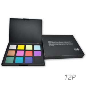 Fundy high quality eyeshadow 2018 portable no brand wholesale makeup 12 color makeup eyeshadow palette