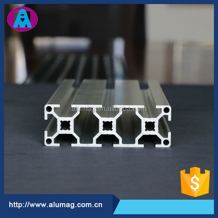 Factory offer 6063 T5 standard modular aluminum extrusion profile