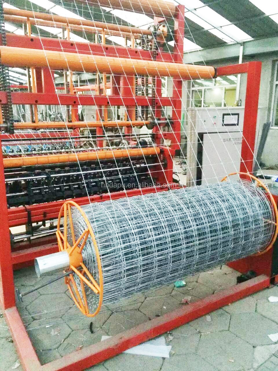 Korrosionsschutz Fix Knoten Grünland Zaun Maschine - Buy Product on ...