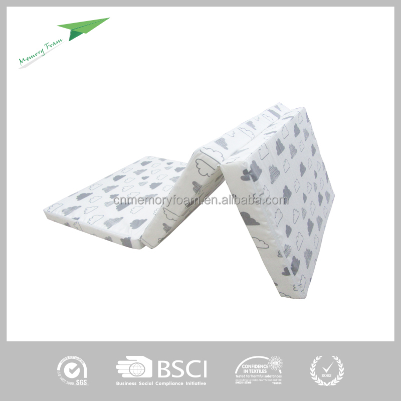 Travel memory foam mattress topper,hospital bed mattress topper