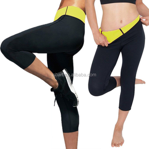 Hot shaper slimming pants shapewear Neoprene Body Shaper quick slim Compression Sweat Sports Pants