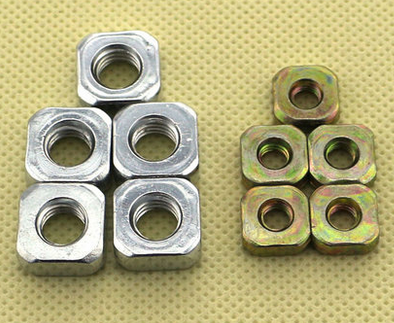 carbon steel weld square nut M4-M12