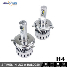 Best H4 LED Headlight Conversion with High Brightness - Perfect Light Beam - Collars Removable Easy for Installation