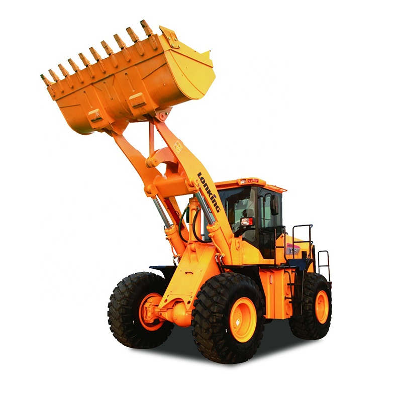 China LONKING New Type 5 Ton Articulating Tractor Front End Wheel Loader LG856