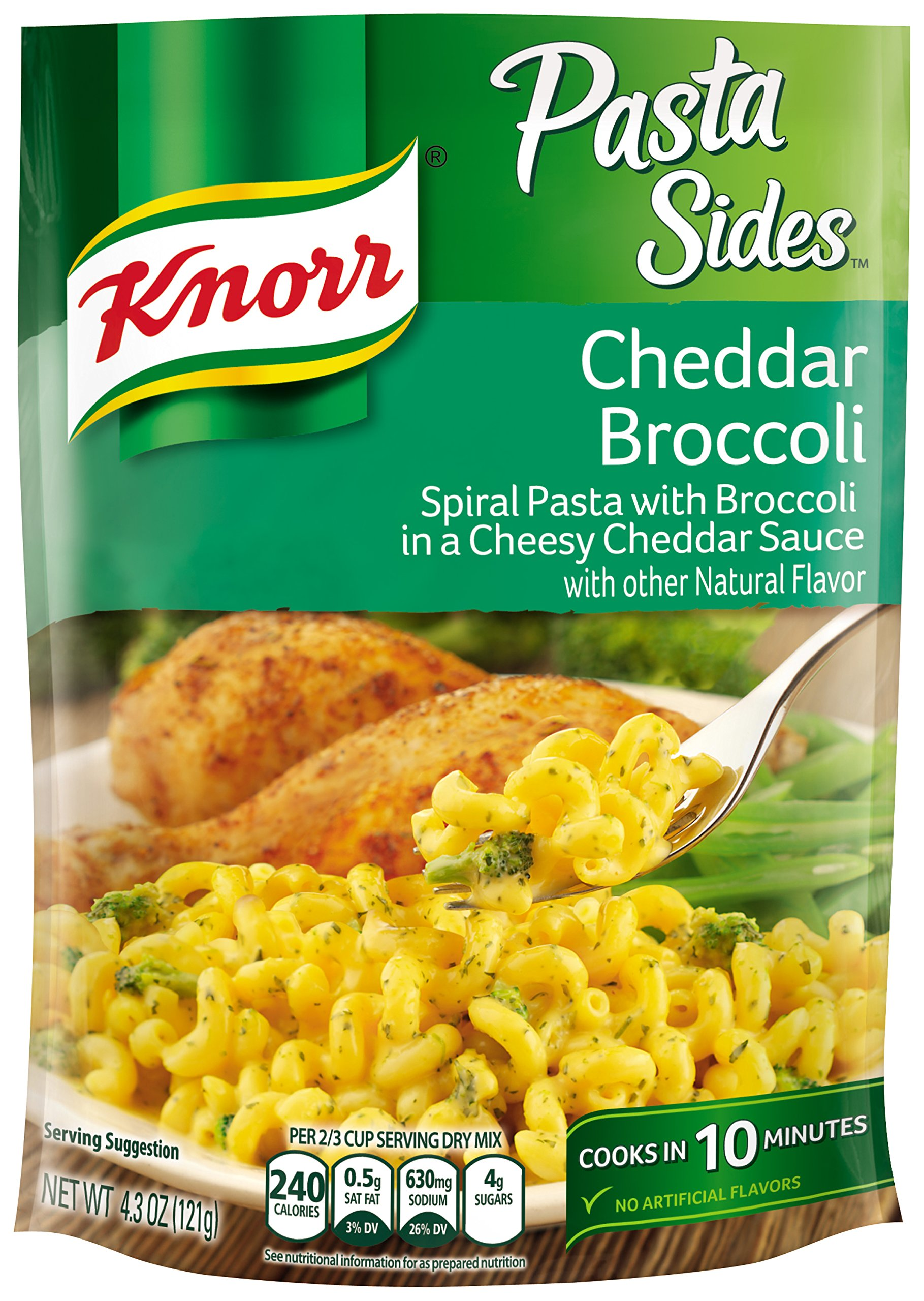 Knorr Pasta Side Dish, Cheddar Broccoli, 4.3 oz