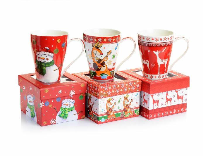 frohe weihnachten schneemann keramik tasse nette elk. Black Bedroom Furniture Sets. Home Design Ideas