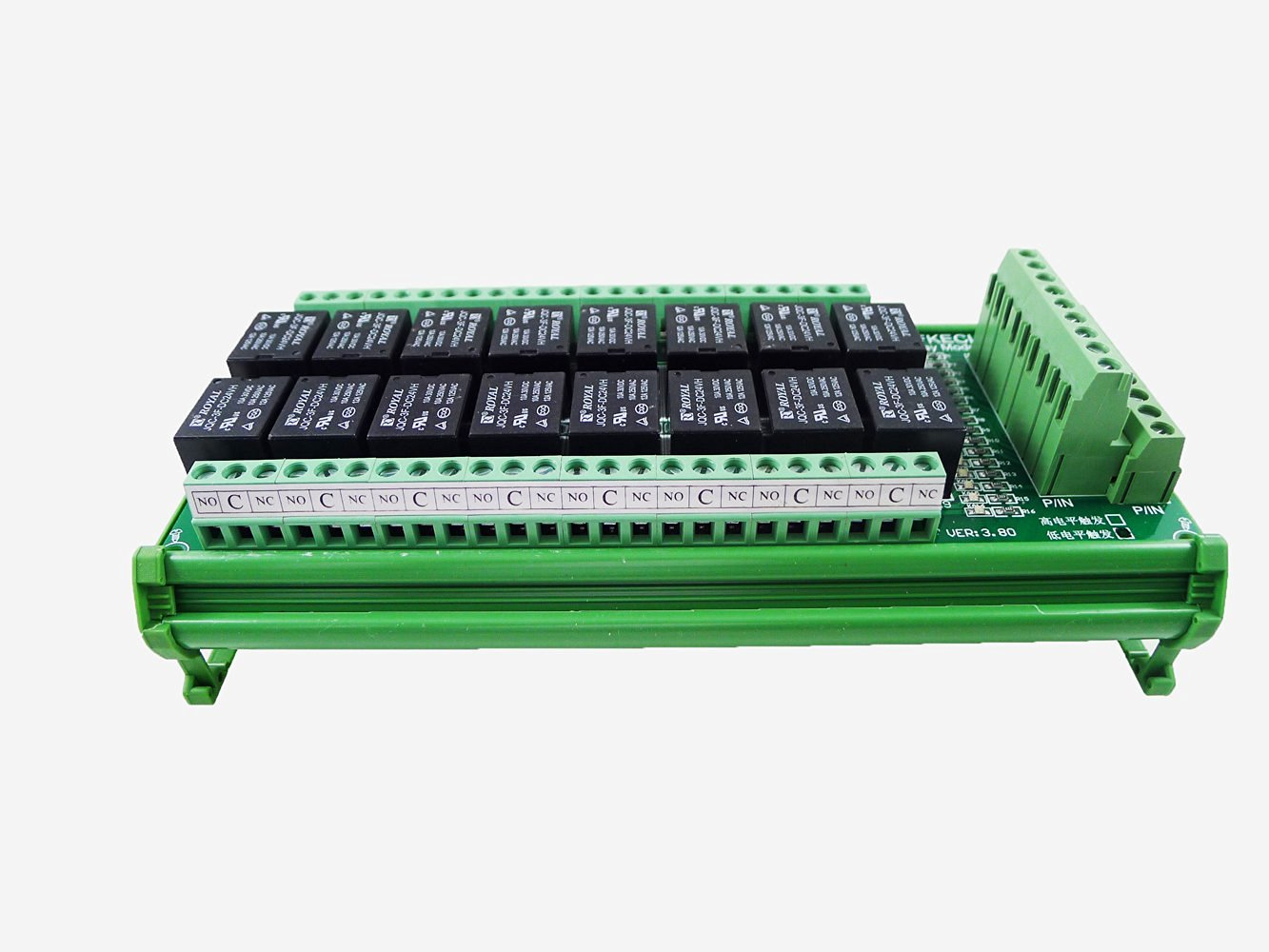 Cheap Plc Relay Logic Find Deals On Line At Alibabacom Switch Get Quotations Geri Newer Version 16 Channel 24v Module Trigger Variable Power Output