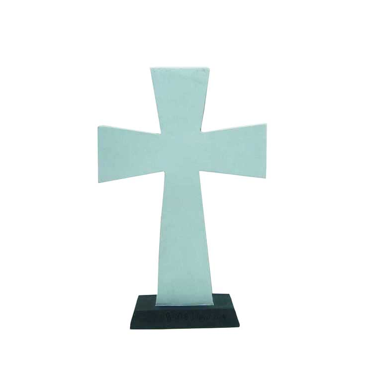 'i will take refuge' cross provision of family decorative cross statues