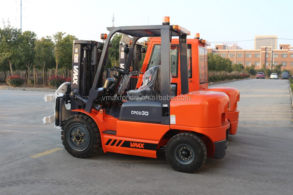 nuevo diseno 3.0 Ton carretilla diesel from China, Chinese brand lift truck
