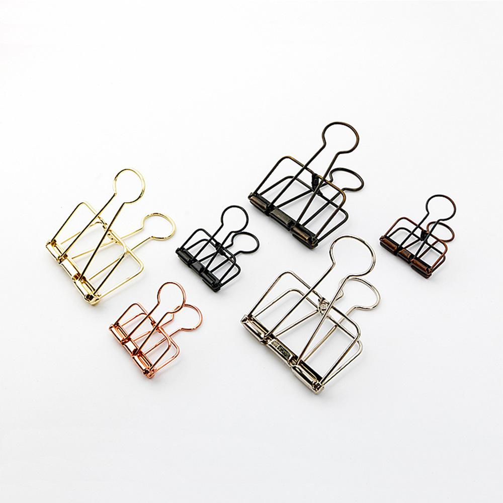 Different Kinds Of Novelty Unique Jumbo Magnetic Nitinol Fold Back Copper  Medium Rose Gold Paper Clamp Clips - Buy Gold Paper Clips,Rose Gold Paper