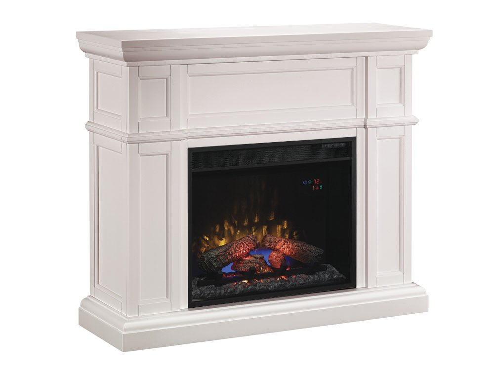 Empire Cherry Electric Fireplace Sold Separately Classic Flame 33WM881-C232 Lexington Wall Fireplace Mantel