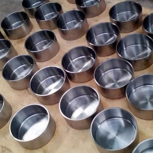 molybdenum refractory metal crucibles for sintering industrial diamonds.