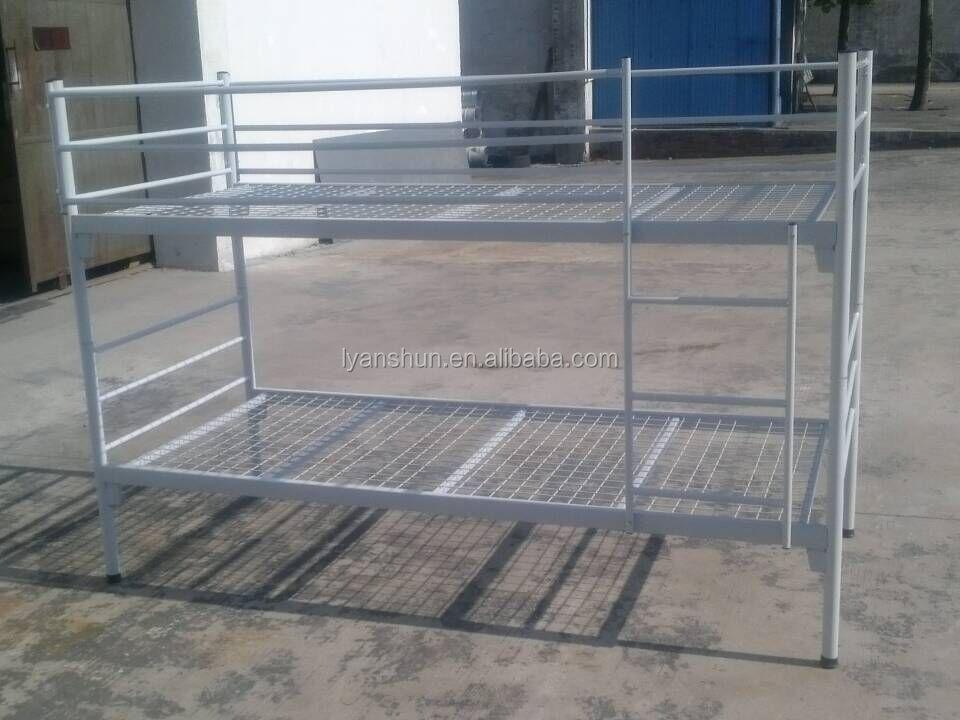 Leger bed ontwerp volwassen ijzer staal stapelbed te koop kinderen ijzer triple stapelbed - Deco slaapkamer ontwerp volwassen ...