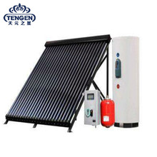 Guangzhou evacuated tube heat pipe split solar water heater