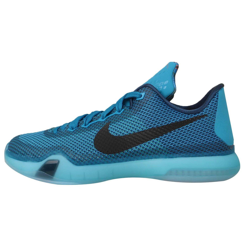 newest 2d64c 9a9a6 Get Quotations · Nike Kid s Kobe X GS, 5AM FLIGHT-BLUE LAGOON BLACK-VAPOR  GREEN