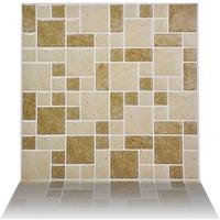 aMavin Mosaic Peel and Stick Wall Tile Sticker for Bathroom Home Decor 10x10