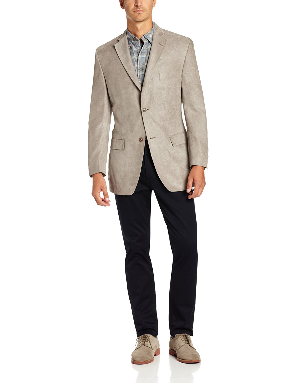 Franklin Tailored Mens Double Face Gelato Twill Newton Sport Coat