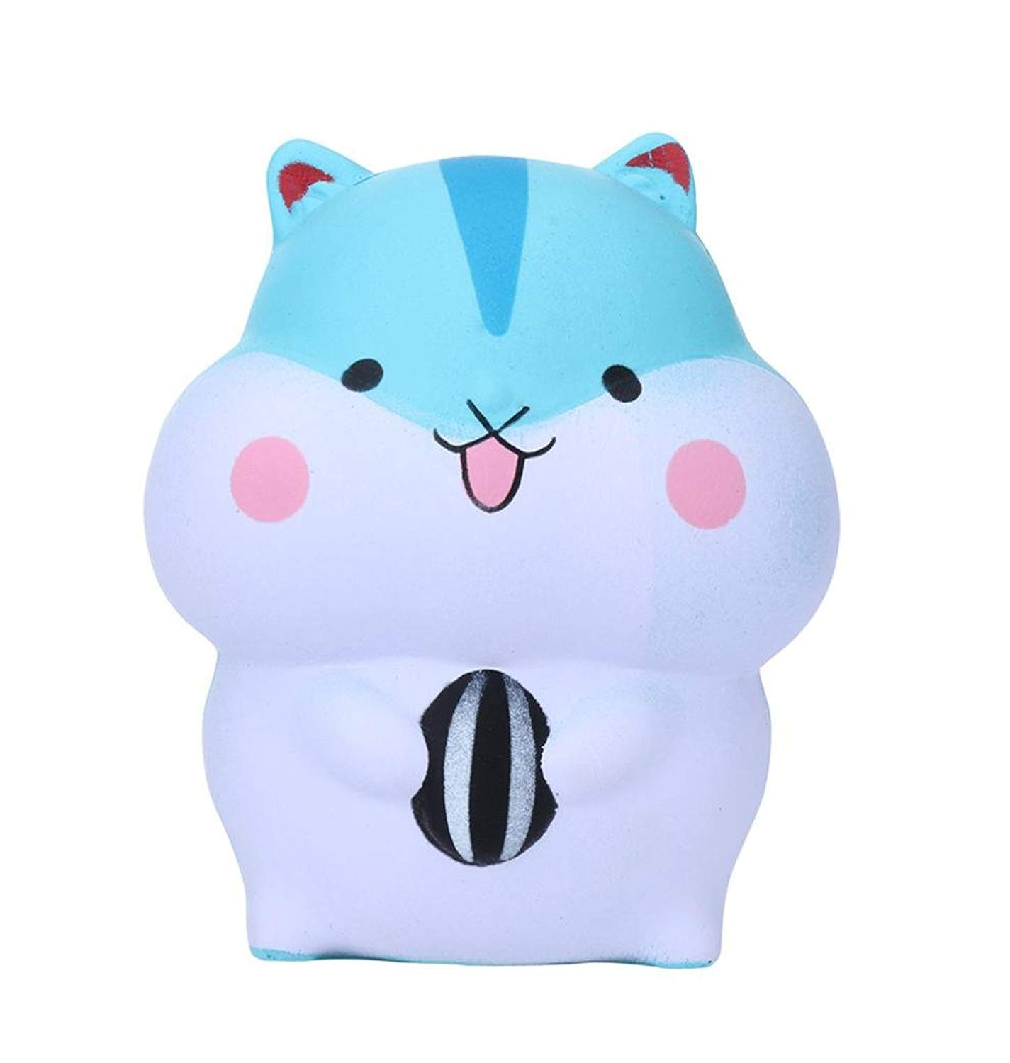 Malbaba Slow Rising Squishis Jumbo Kawaii Cute Hamster Scented Squishy Stress Reliever Fun Simulation Kid Toy Pendant Phone Charm Gifts