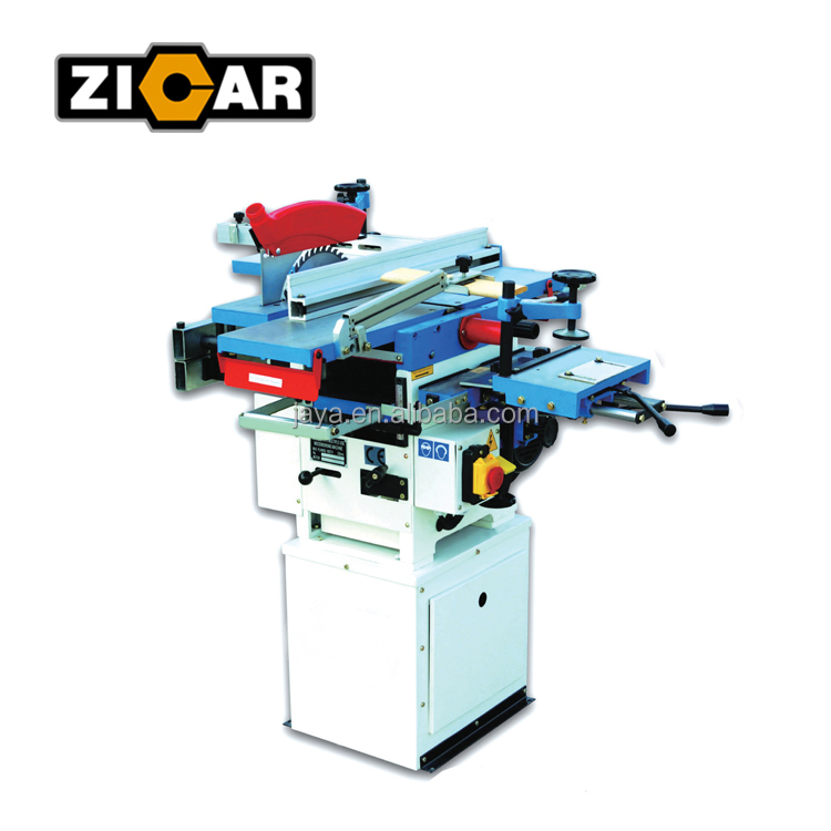 ZICAR wood working Combination Universal Machine ML210, with functions of jointer, saw, planer and mortiser