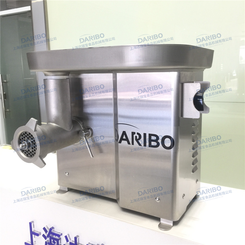 DARIBO Newest Stainless Fresh Meat Mincer Machine/Garlic Mushroom Mincing Grinder with Low Price