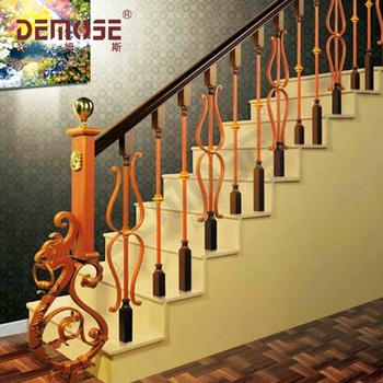 Vintage Wrought Iron Handrail/iron Staircase Railing - Buy ...
