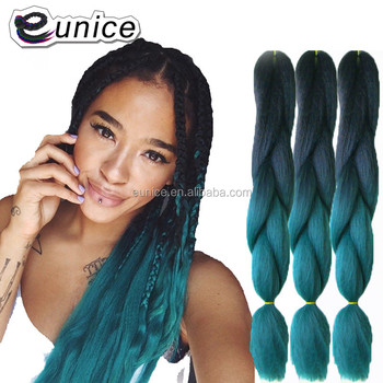 Expression Synthetic Hair Attachment For Braids Ombre Jumbo