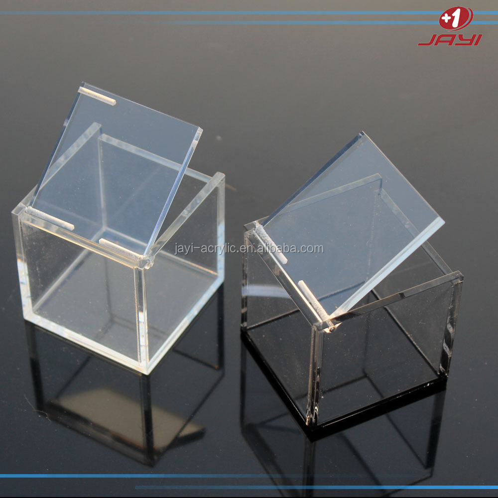 Clear Acrylic Lucite Acrylic Favor Box