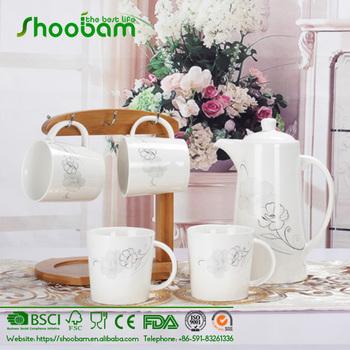 Bamboo Tableware Mugs Stand Coffee Cups Tree Holder Tea Changer Organizer
