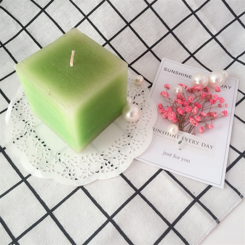 Scented Square Pillar Candles 3x3