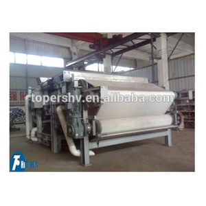 water and waste water treatment equipment DY belt filter press used for sludge dewatering