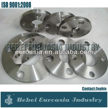 Stainess acero fontaneria herrajes pipe flanges
