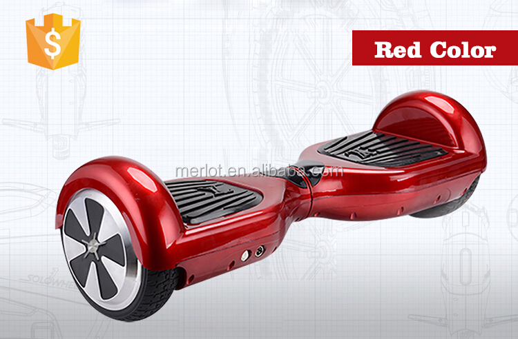 2017 Lastest Hot sale Electric Self Balance Scooter 2 Wheel Drifting Skateboard Smart Scooter LED