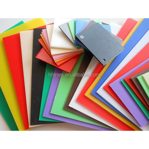 Corrugated Coroplast PP Plastic Fluted Polypropylene Hollow Board Sheet For Floor Covering