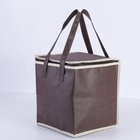 Wholesale Keep Warm Gray Color Food Delivery Insulated Thermal Cooler Bag