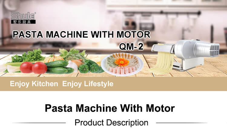 Home Use Electric Noodle Making Machine with Motor