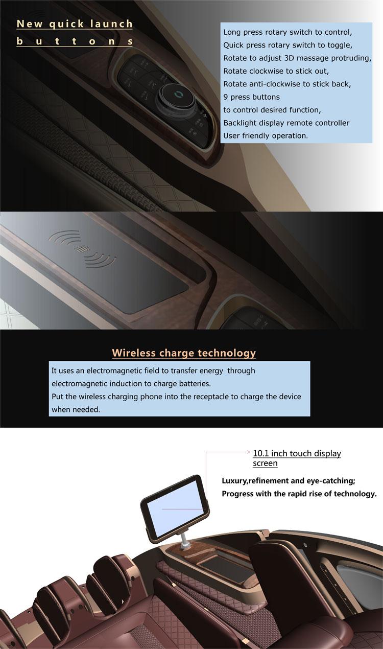 高級商業 4D 指圧マッサージチェアマッサージチェア価格