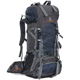 60L Nylon/Oxford Waterproof Dry Bag Outdoor High Quality Travel Backpack Men Women Camping Mountaineering Hiking Backpacks